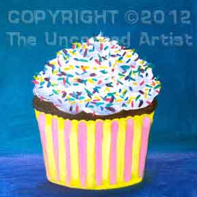 Cupcake (#018) • Created by Steffi • 12x12 canvas • Tier 1