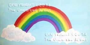 Glitter Rainbow (#020) • Created by Kerrin • 10x20 canvas • Tier 1