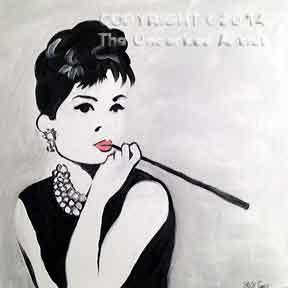 Audrey Hepburn (#274) • Created by Steffi • 12x12 • Tier 5