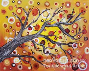 Autumn Gyrations (#104) • Created by Erin • 16x20 • Tier 3