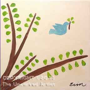 Liam's Baptism (#014) • Created by Erin • 12x12 canvas • Tier 1
