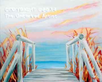 Beachwalk (#121) • Created by Steffi • 16x20 • Tier 3