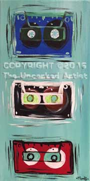 Cassette Tapes (#370) • Created by Mandy • 10×20 • Tier 3