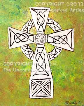 Celtic Cross (#232) • Created by Mandy • 16x20 • Tier 4