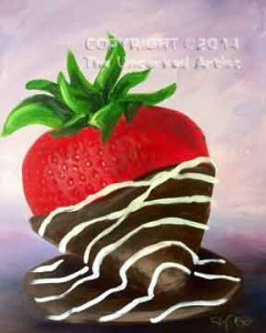 Chocolate Covered Strawberry (#233) • Created by Steffi • 16x20 • Tier 4