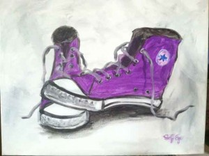 Chucks (#234) • Created by Steffi • 16x20 • Tier 4