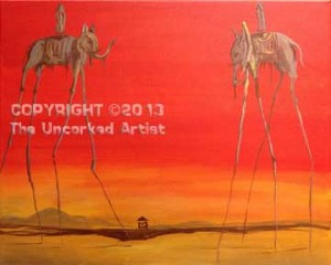 Dali Elephants (#237) • Created by Trish • 16x20 • Tier 4