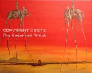 Dali Elephants (#237) • Created by Trish • 16x20 • Tier 4