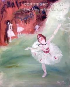 Degas Ballerina (#238) • Created by Steffi • 16x20 • Tier 4