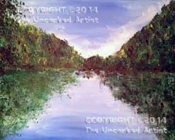 Delaware Water Gap (#148) • Created by Jenn • 16x20 • Tier 3