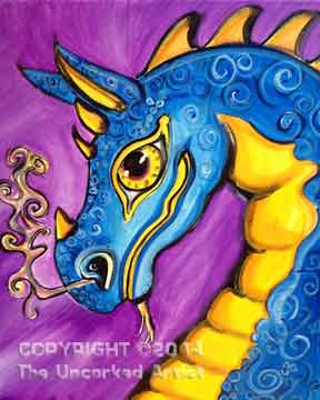 Dragon (#239) • Created by Karoline • Also see the child version in Tier 2 • 16x20 • Tier 3