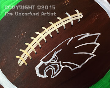 Eagles Football (#306) • Created by Susan • 11×14 • Tier 3