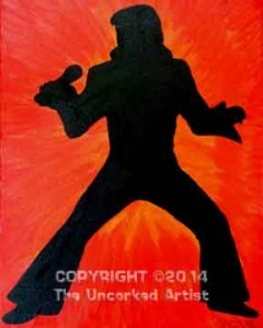 Elvis (#151) • Created by Crystal • 16x20 • Tier 3