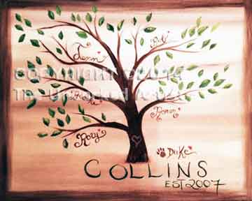 Family Tree (#123) • Created by Jenn • 16x20 • Tier 3