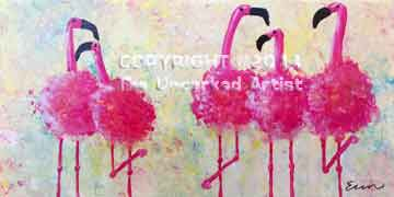 Flamingos (#152) • Created by Erin • 10x20 • Tier 3