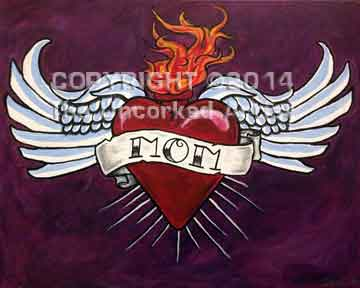 Heart Tattoo (#242) • Created by Dani • 16x20 • Tier 4