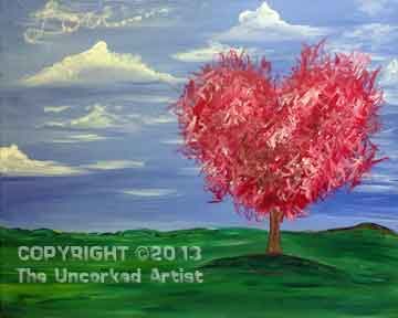 Heart Tree (#158) • Created by Susan • 16x20 • Tier 3