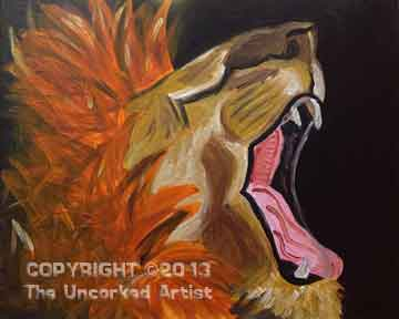 In Like A Lion (#161) • Created by Erin • 16x20 • Tier 3