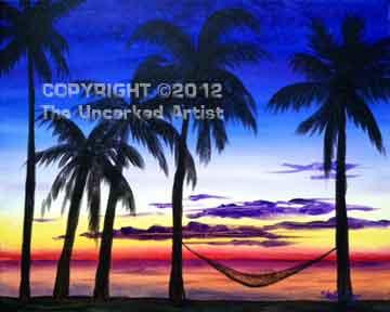 Island Fantasy (#099) • Created by Steffi • 16x20 • Tier 3