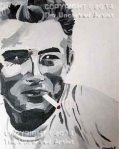 James Dean (#277) • Created by Crystal • 11x14 • Tier 5
