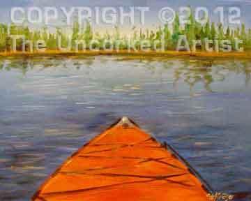 Kayak (#165) • Created by Steffi • 16x20 • Tier 3