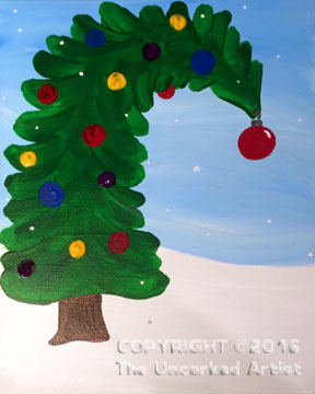 Kids Christmas Tree  (#376) • Created by Crystal • 16×20 • Tier 1