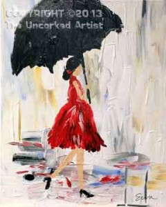 Lady With the Red Dress On (#100) • Created by Erin • 16x20 • Tier 3