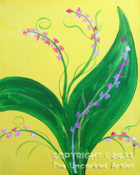 Lily Of The Valley (#324) • Recreated by Rebecca • 11×14 • Tier 1