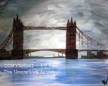 London Bridge (#168) • Created by Mandy • 16x20 • Tier 3