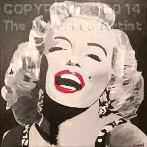 Marilyn Monroe (#279) • Created by Crystal • 12x12 • Tier 5
