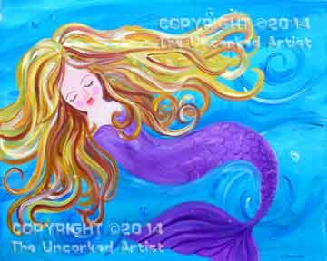 Mermaid (#173) • Created by Kerrin • 16x20 • Tier 3