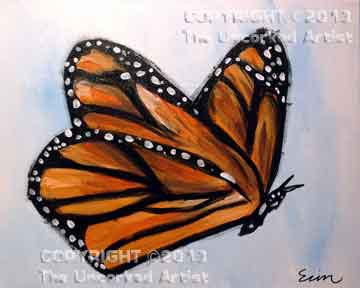 Monarch Butterfly (#175) • Created by Erin • 16x20 • Tier 3