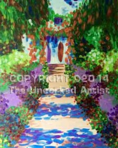 Monet Giverney Garden Path (#267) • Created by Steffi • 16x20 • Tier 4