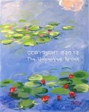 Monet Water Lilies (#146) • Created by Steffi • 16x20 • Tier 3