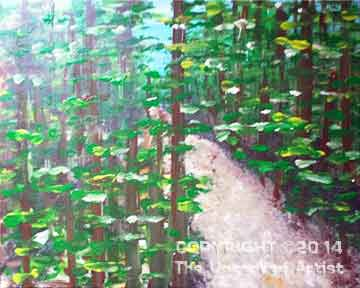New Jersey Pine Barrens (#179) • Created by Erin • 16x20 • Tier 3