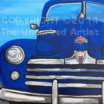 Old Blue Ford (#247) • Created by Michelle • 12x12 • Tier 4