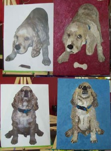 Paint Your OWN Pet (#280) • That's right, send us a digital photo of your pet, we will adhere it to
