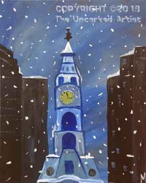 Philly Winter (#125) • Created by Mandy  • 16x20 • Tier 3