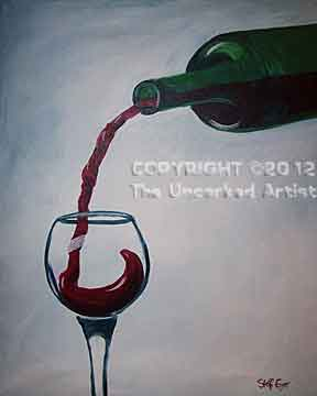 Pouring Wine (#191) • Created by Steffi  • 16x20 • Tier 3