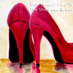Red High Heels (#194) • Created by Steffi  • 12x12 • Tier 3