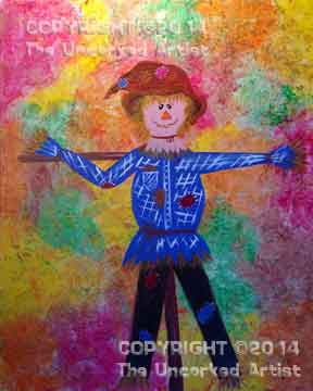 Scarecrow (#198) • Created by Becky  • 16x20 • Tier 3
