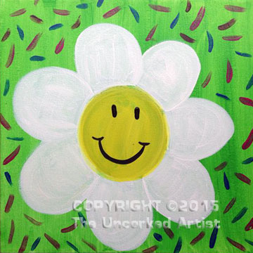 Smiley Daisy (#337) • Recreated by Rebecca • 12×12 • Tier 1
