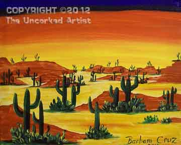 Southwest Desert (#204) • 16x20 • Tier 3