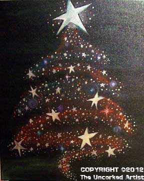 Swash Christmas Tree (#212) • Created by Trish • 16x20 • Tier 3