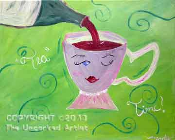 Tea Time (#214) • Created by Mandy • 16x20 • Tier 3