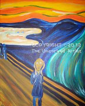 Edvard Munch The Scream (#217) • 16x20 • Tier 3