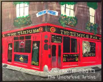 The Temple Bar (#282) • Created by Mandy • 16x20 • Tier 5