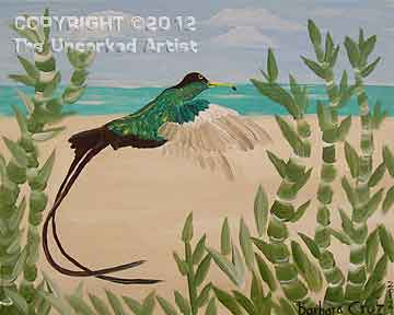 Tropical Hummingbird (#220) • 16x20 • Tier 3