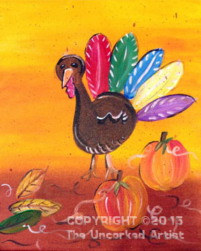 Turkey Time (#366) • Created by Karoline • 11×14 • Tier 2