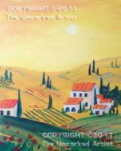 Tuscany Valley (#257) • Created by Susan • 11x14 • Tier 4